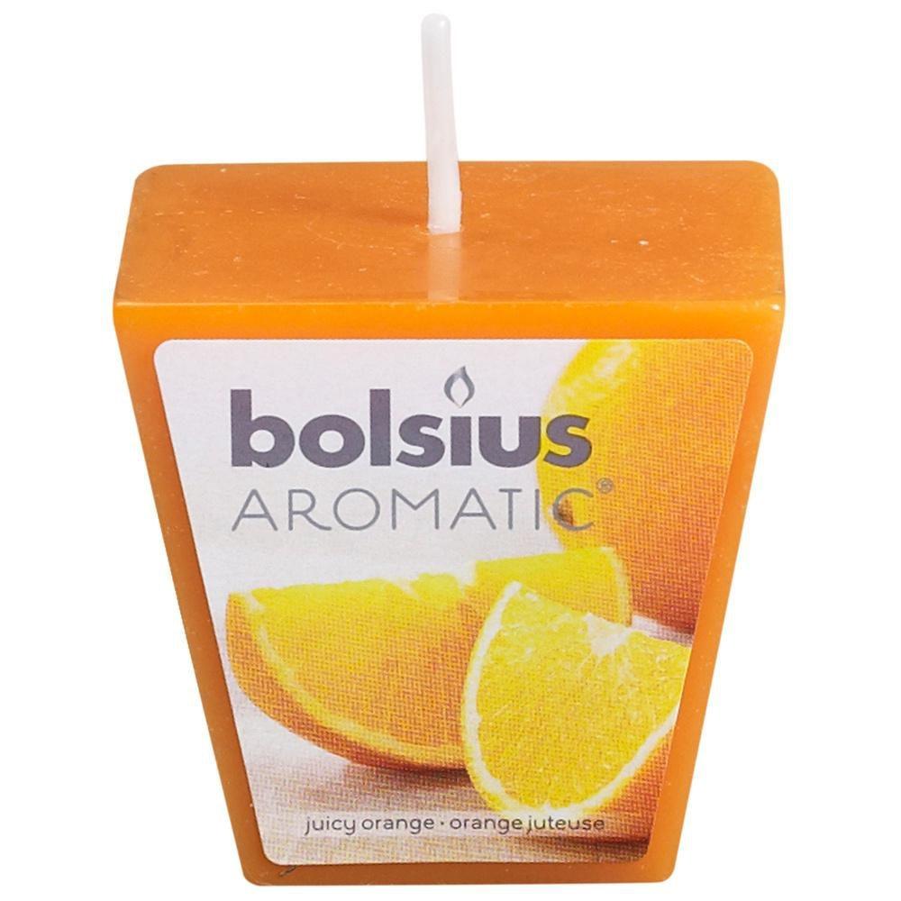 bolsius geurvotive vierkant juicy orange