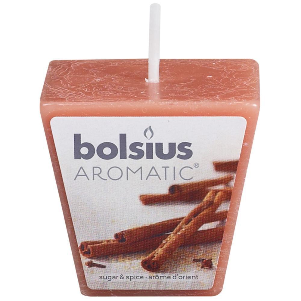 bolsius geurvotive vierkant sugar & spice