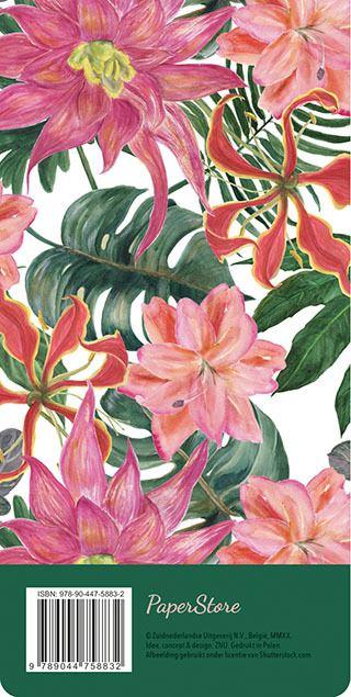 boodschappenlijst - tropical flowers
