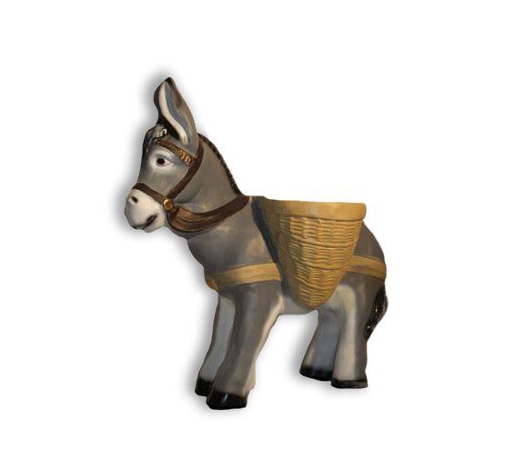bp ezel met potten vast grijs