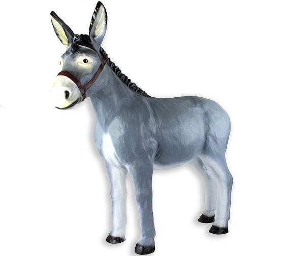 bp ezel staand grijs groot