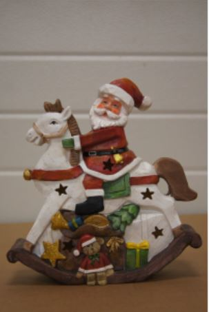bp kerstman hobbelpaard
