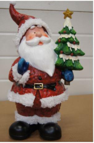 bp kerstman kerstboom groot