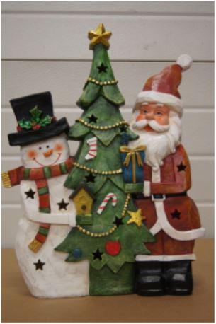 bp sneeuwman kerstboom kerstman
