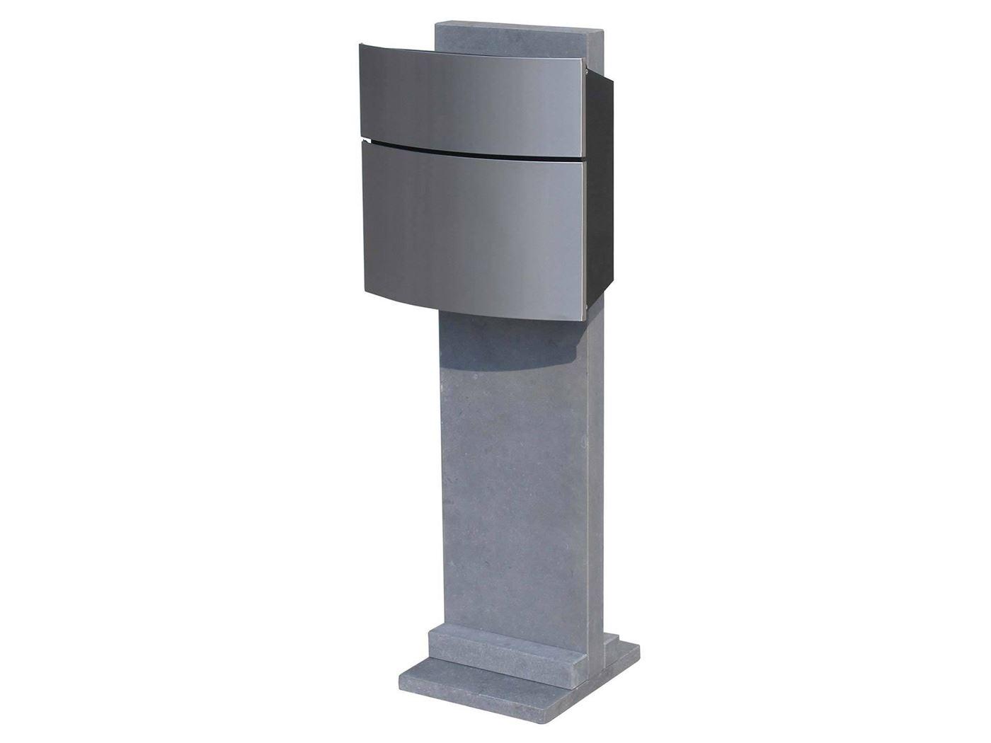 brievenbus halmstad stainless steel