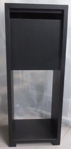 brievenbus model 15 zwart chinese blauwsteen