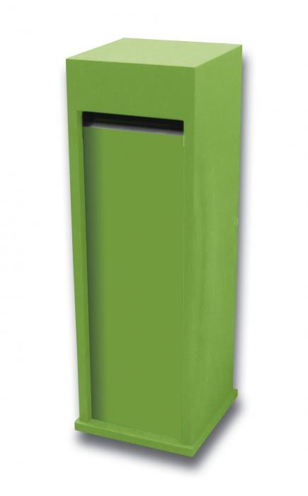 brievenbus model 68 chinese blauwsteen gepersonaliseerd groen (exclusief opdruk)