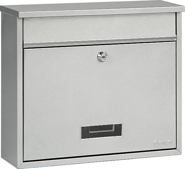 brievenbus oxford zilvergrijs