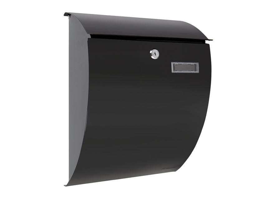 brievenbus sheffield zwart
