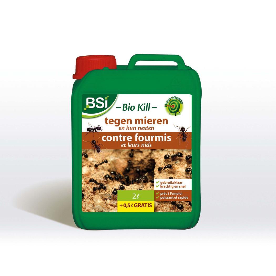 bsi biokill tegen mieren en hun nesten