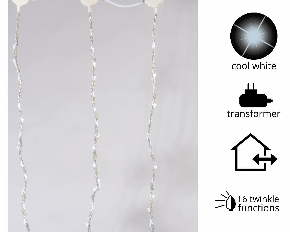 buiten gordijnverlichting led wit multifunctie