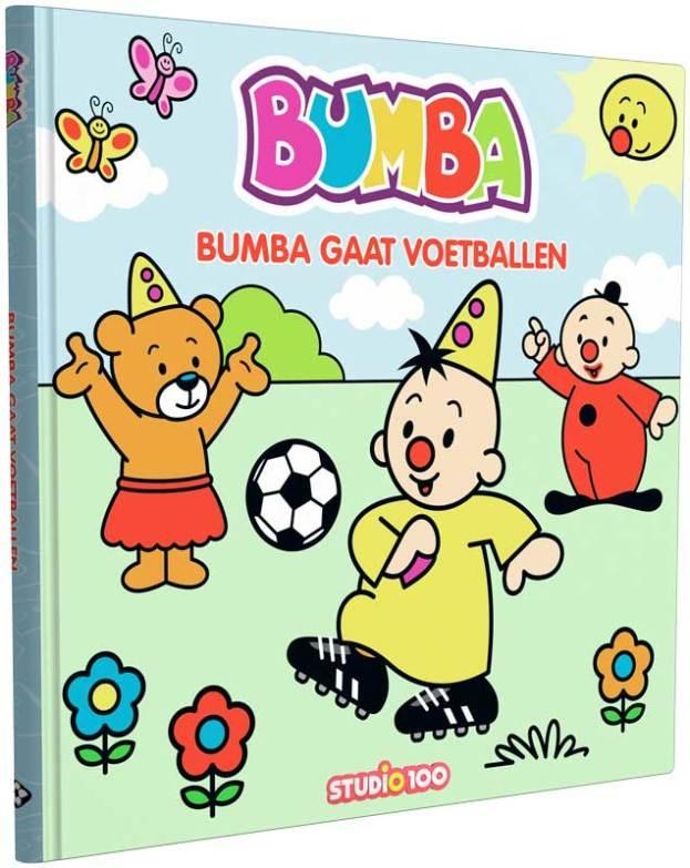 bumba kartonboekje bumba voetbalt