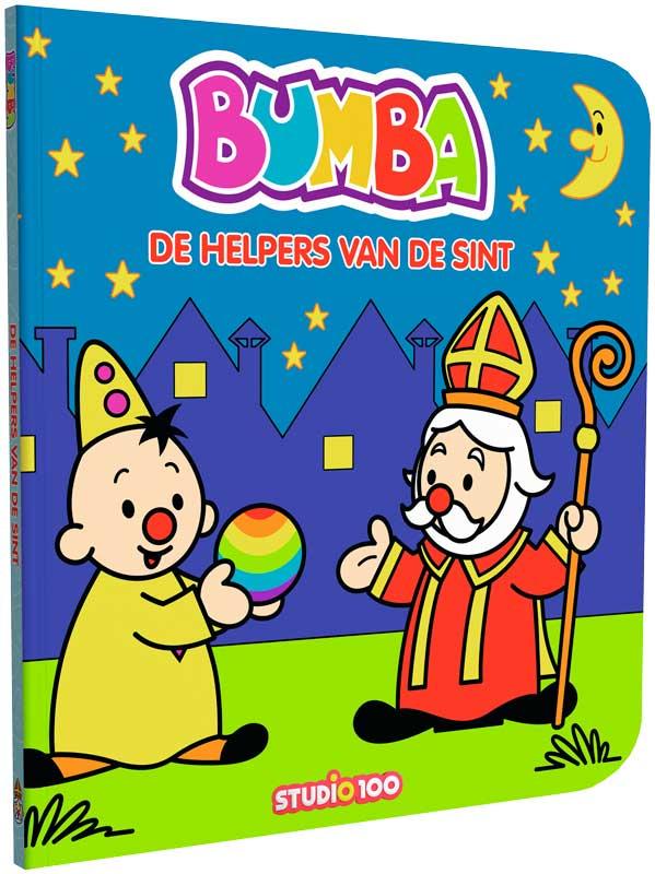 bumba kartonboekje de helpers van de sint