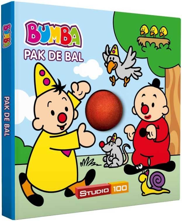 bumba kartonboekje pak de bal - met rollende bal