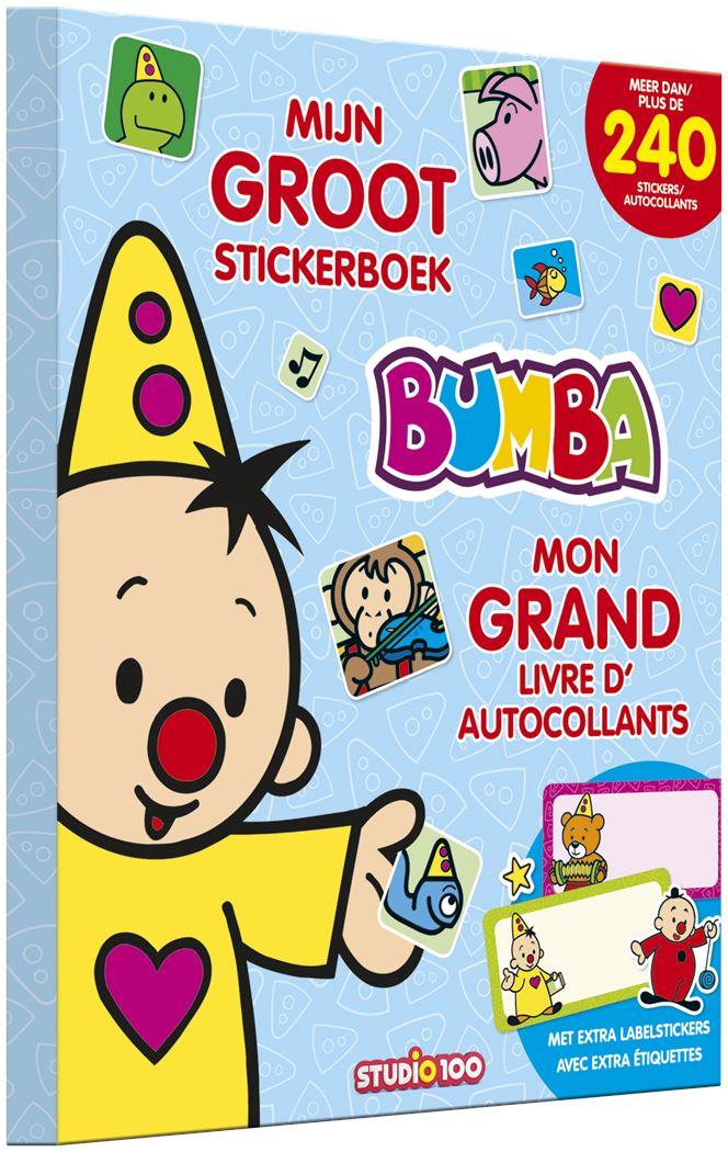 bumba mijn groot stickerboek