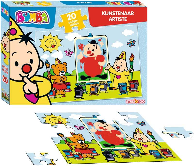 bumba puzzel kunstenaar (20 stukjes)