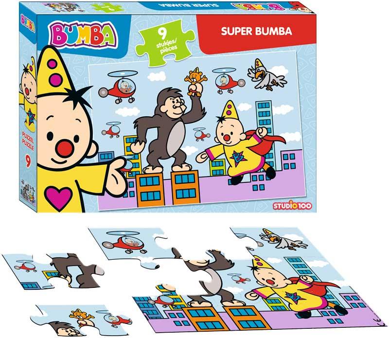 bumba puzzel super bumba (9 stukjes)
