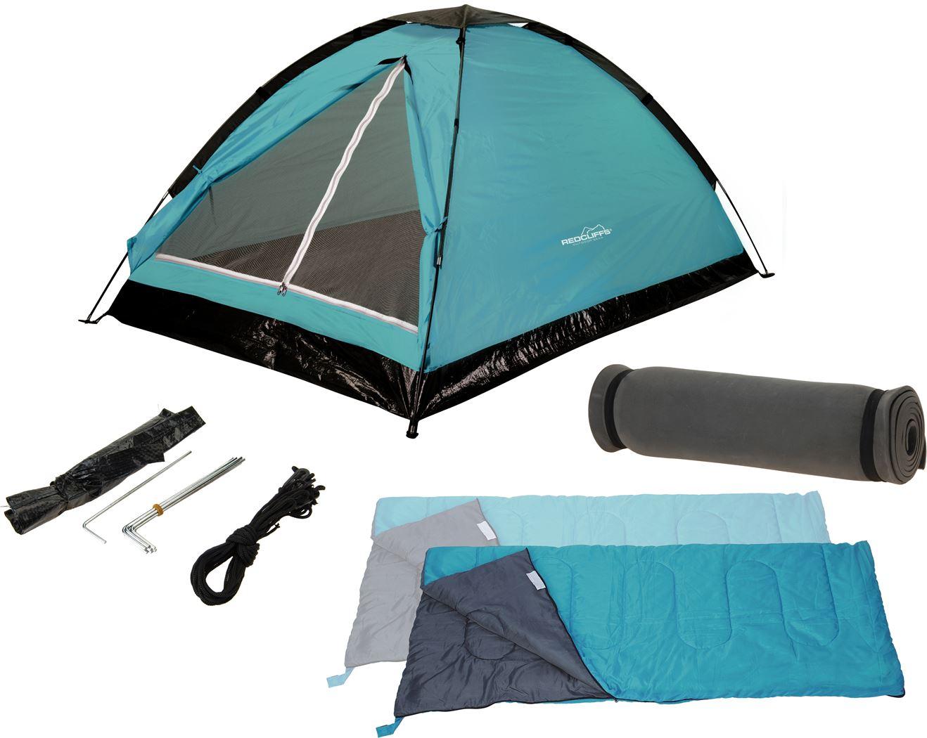 campingset (5-delig)(2 kleuren ass.)