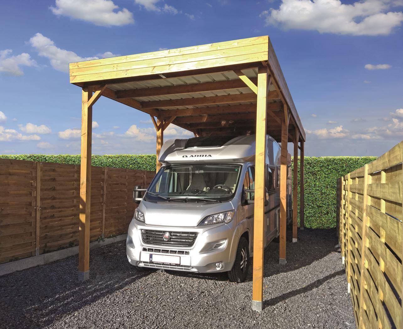 carport mobilhome cargo