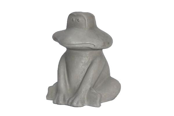 cement frog natural