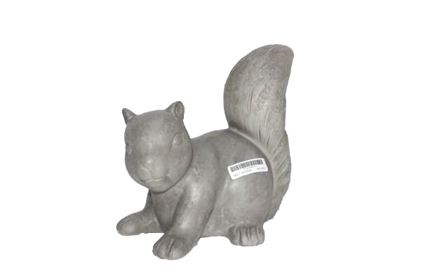 cement squirrel natural
