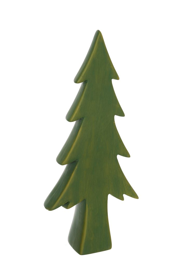 ceramic tree green