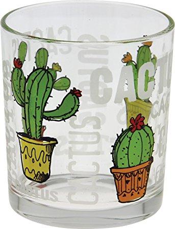 cerve glas cactus set (3sts)