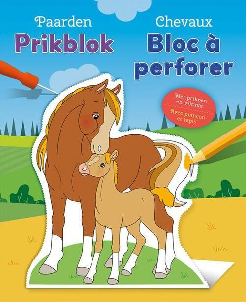 chevaux bloc à perforer