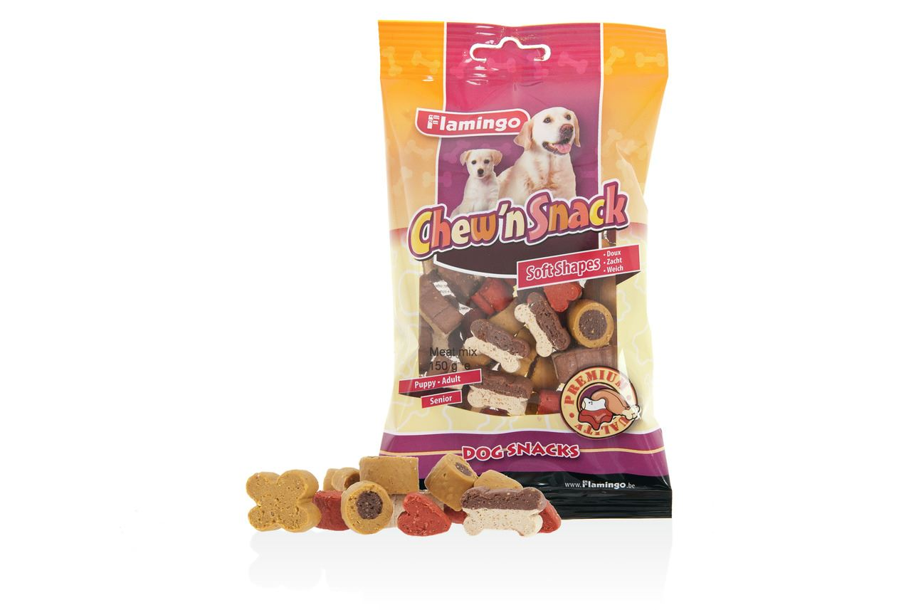 chew'n snack meat mix
