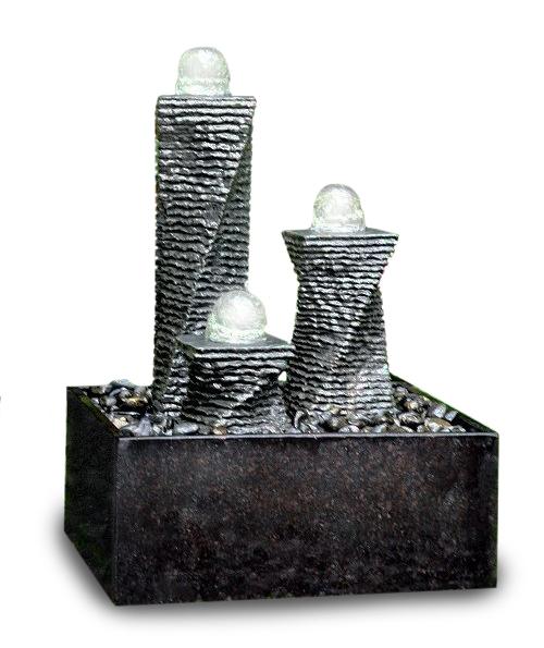 chrystal fountain new jersey polish basin graniet zwart