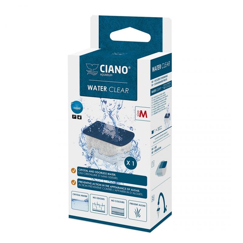 ciano water clear medium blauw