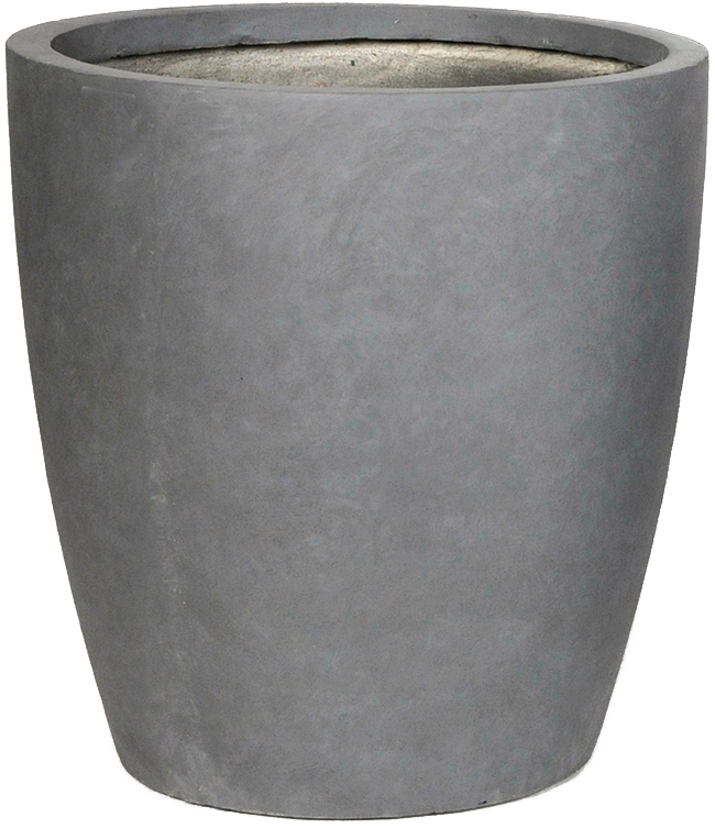 clayfibre egg pot high authentic grey
