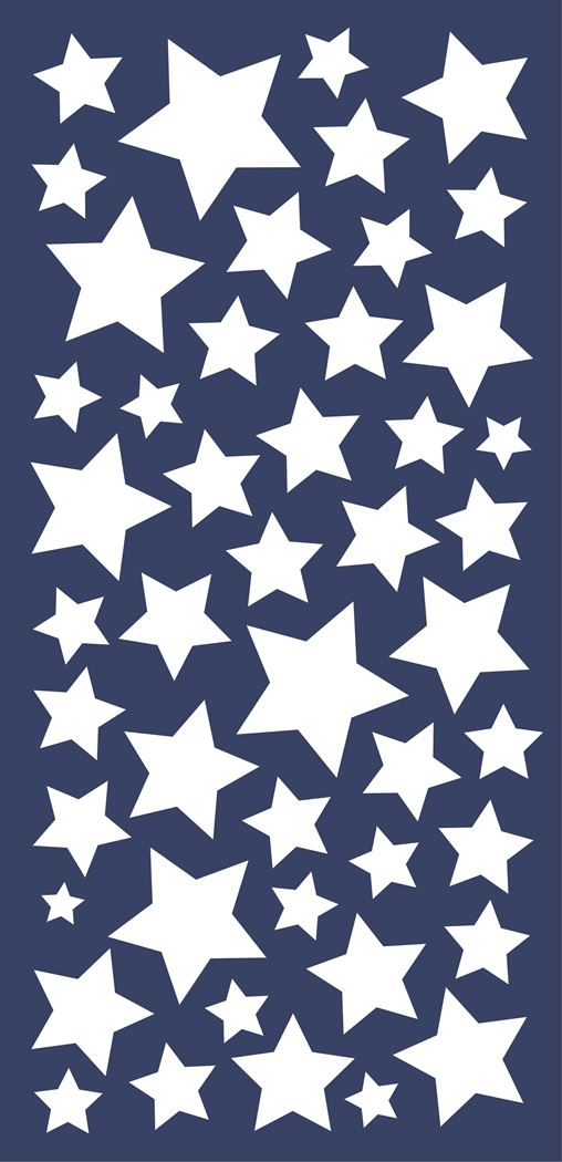 crearreda stars glow in the dark wall stickers 2 sheets