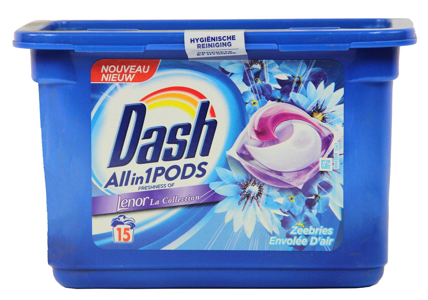 dash pods allin1 lenor ocean breeze (15sts)
