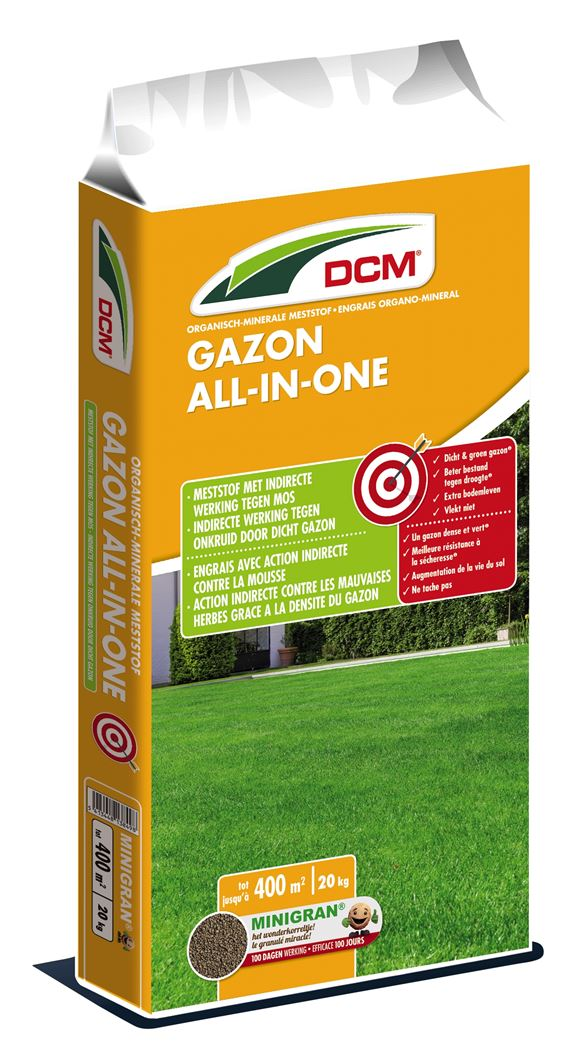dcm meststof gazon all-in-one