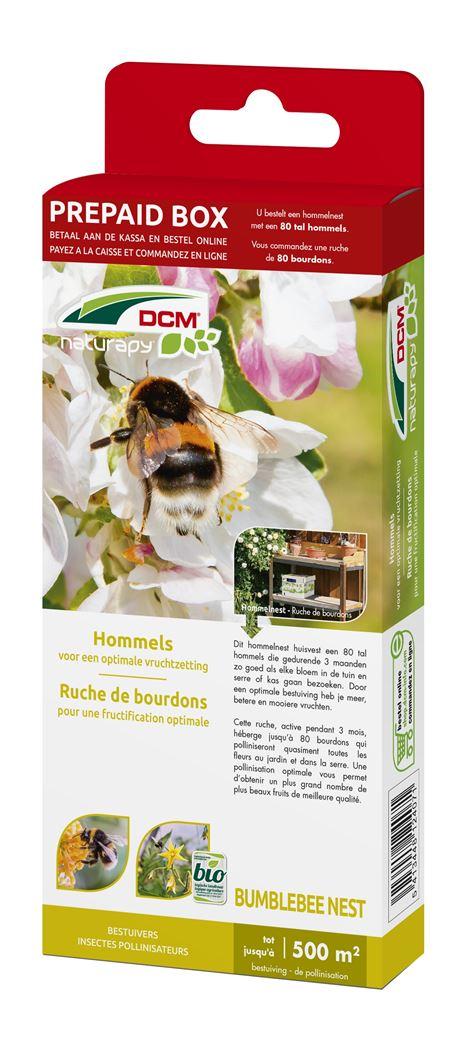 dcm naturapy® bumblebee nest - hommels voor een optimale vruchtzetting (prepaid box)