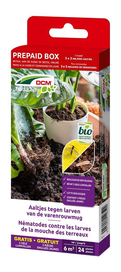 dcm naturapy® felti-guard - aaltjes tegen larven van de varenrouwmug (prepaid box)