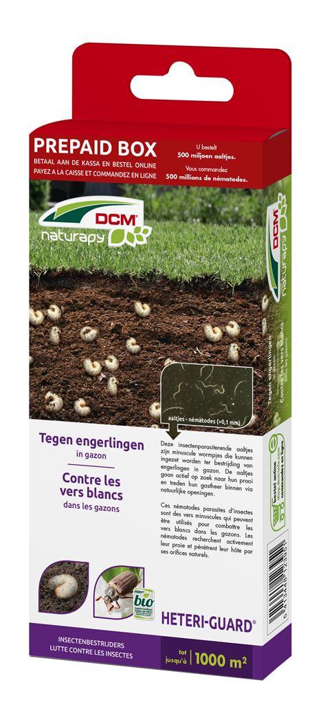 dcm naturapy® heteri-guard - aaltjes tegen engerlingen in gazon (prepaid box)