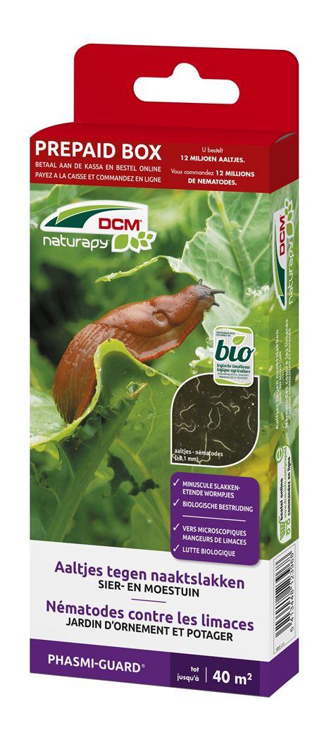 dcm naturapy® phasmi-guard - aaltjes tegen naaktslakken in de sier- en moestuin (prepaid box)