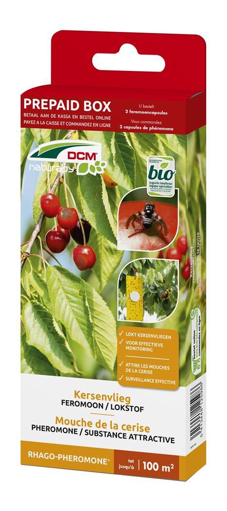 dcm naturapy® rhago-pheromone - feromooncapsules tegen kersenvlieg (2 capsules) (prepaid box)