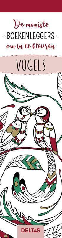 de mooiste kleurboekenleggers om in te kleuren - vogels