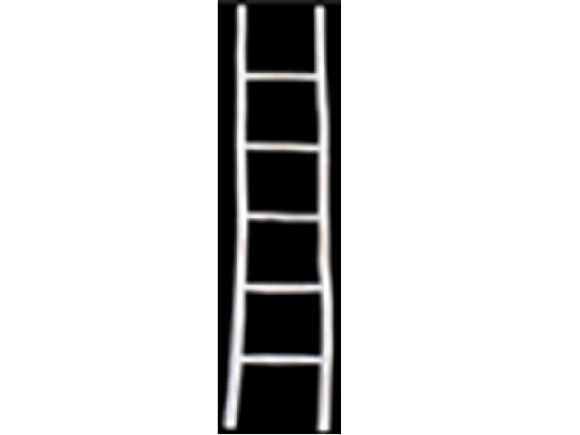 deco stairs white wash