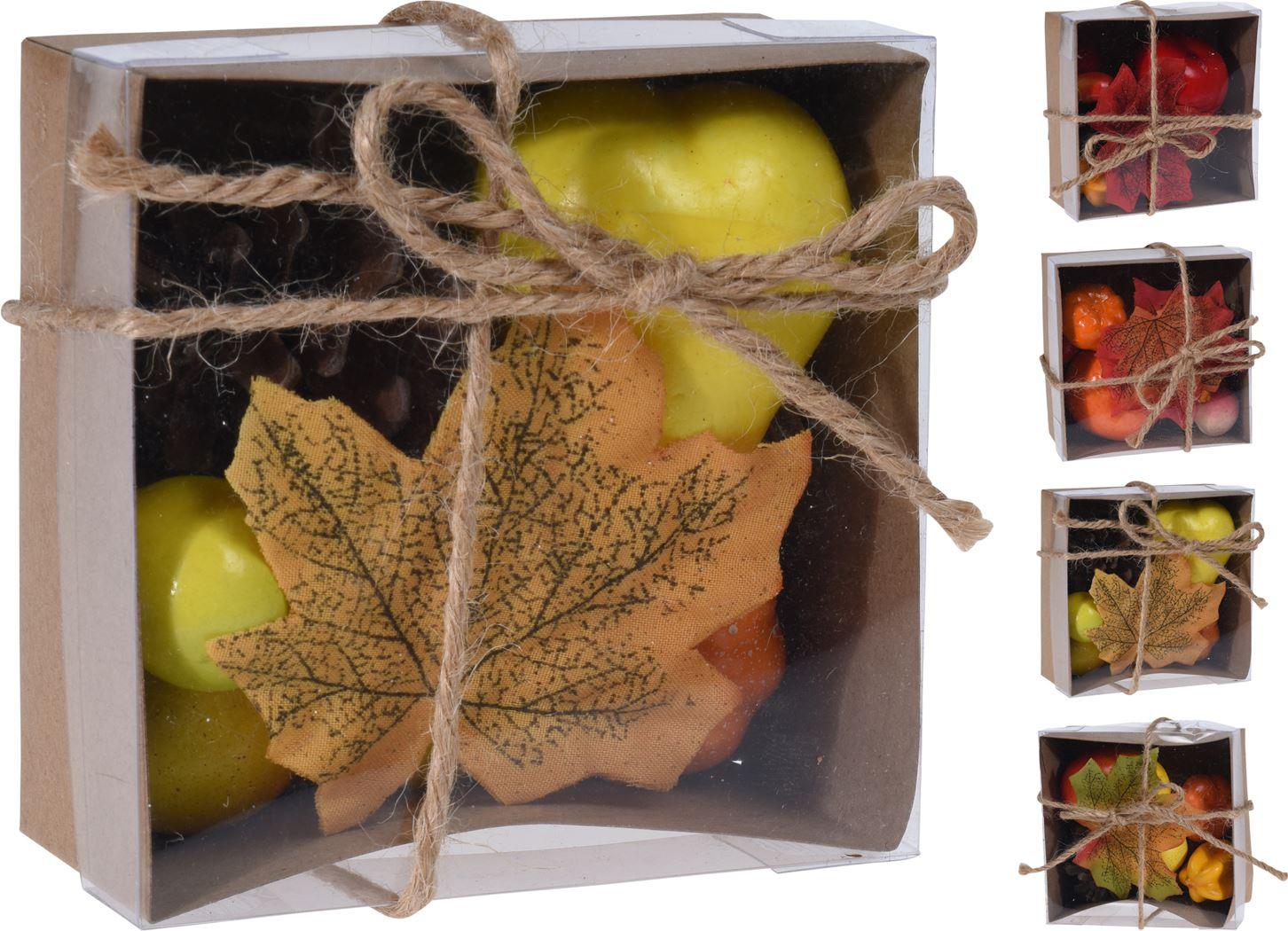 decoratiemateriaal herfst set