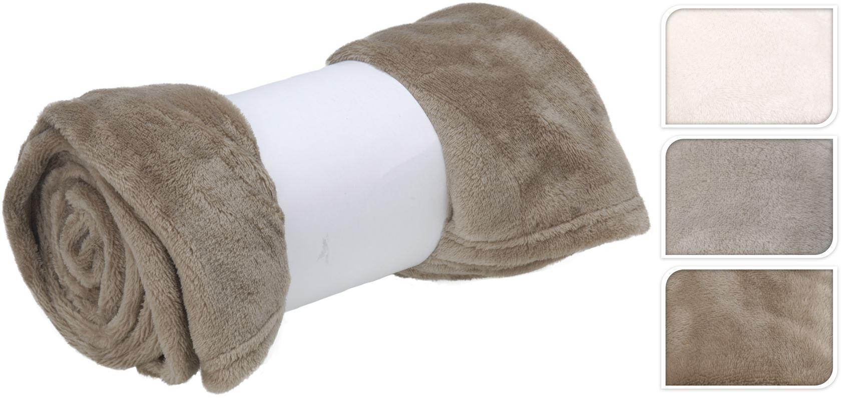 deken (3 kleuren ass.)