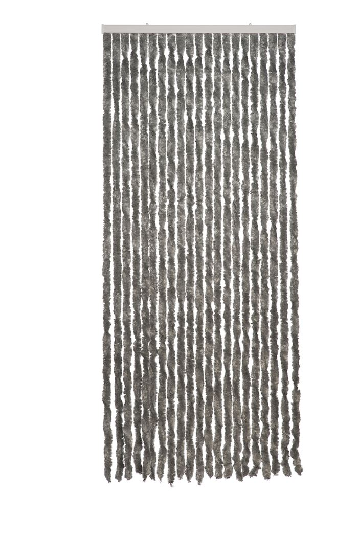 deurgordijn martinique grijs