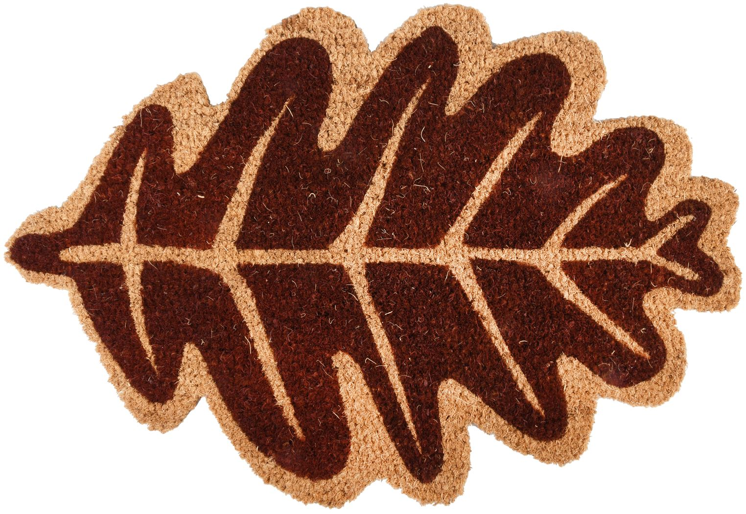 deurmat kokos herfstblad