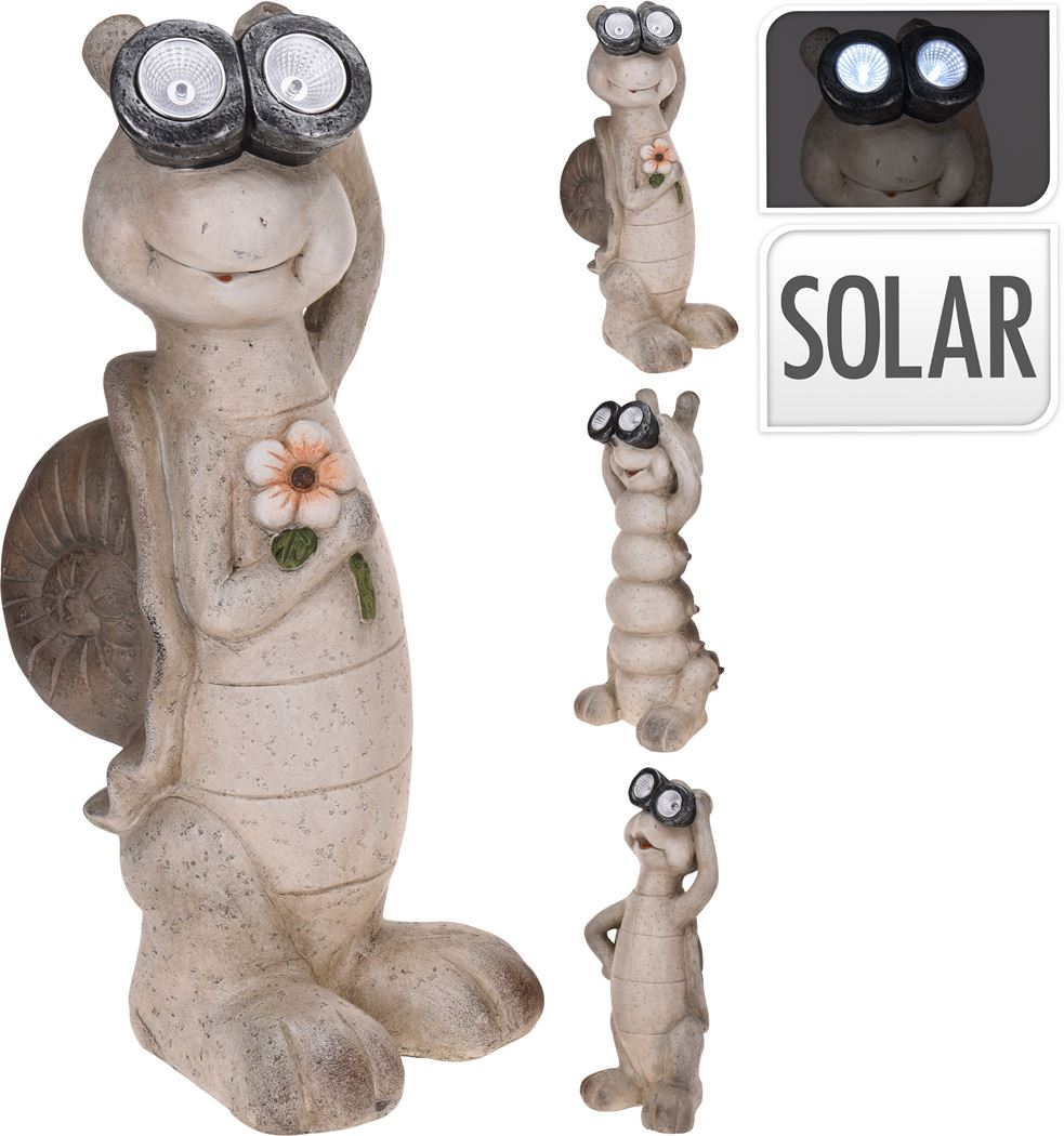 dier grijs met solar (3ass.)