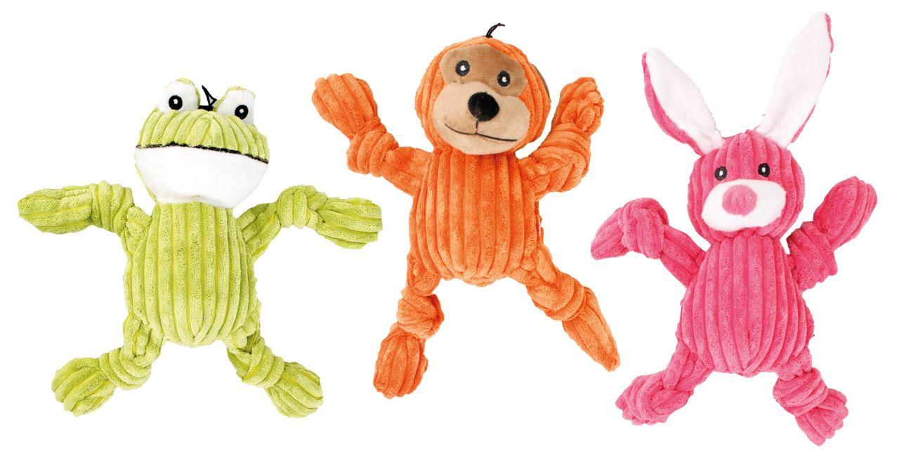 dog toy connie corduroy (3ass.)