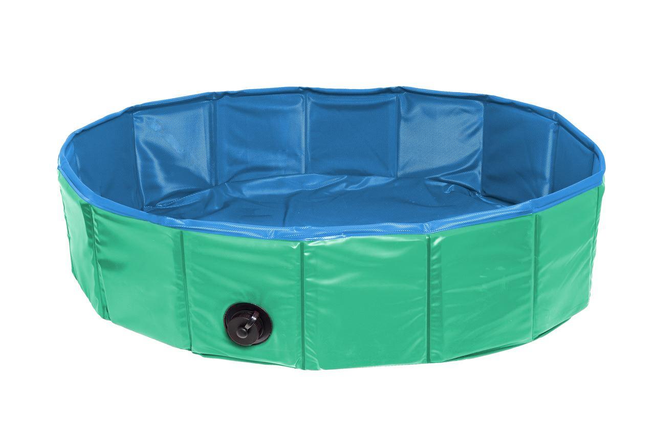 doogy bad groen/blauw