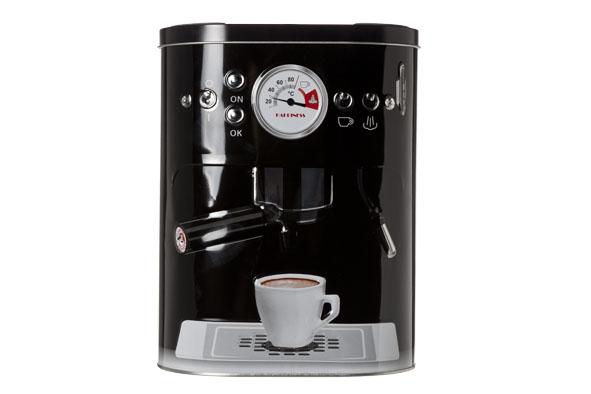 doos koffiezet 3d zwart